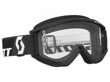 GOGLE SCOOT RECOIL XI BLACK WHITE CLEAR WORKS