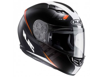 KASK HJC CS-15 SPACE BLACK/ORANGE M