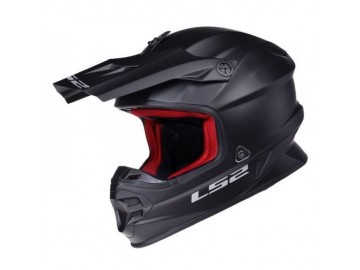 KASK LS2 MX456 SINGLE MONO ENDURO MATT BLACK