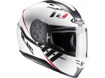 KASK HJC CS-15 SPACE WHITE/RED M