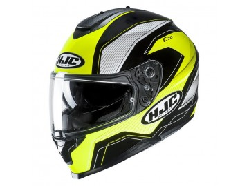 KASK HJC C70 LIANTO BLACK/YELLOW L