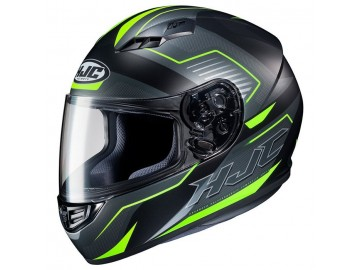 KASK HJC CS-15 TRION BLACK/GREEN XL
