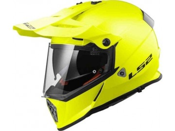 KASK LS2 MX436 PIONEER SOLID H-V YELLOW M