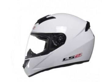 KASK LS2 FF352 SINGLE WHITE INTEGRALNY