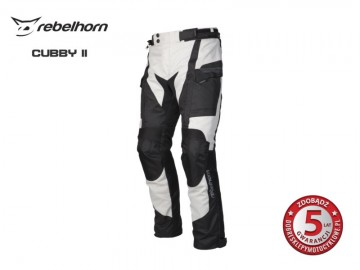 SPODNIE REBELHORN CUBBY II BLACK/GREY L