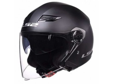KASK LS2 OF569.2 TRACK MATT BLACK L AK1845