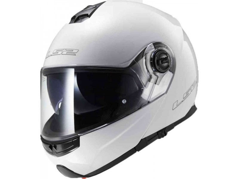 KASK LS2 FF325 STROBE SOLID WHITE