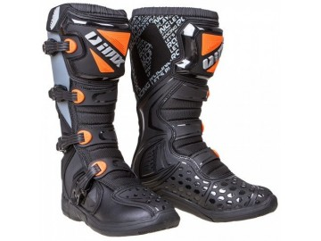 BUTY IMX X-TWO BLACK/ORANGE/GREY 44 WKLADKA 291MM