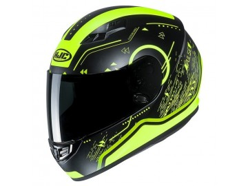 KASK HJC CS-15 SAFA BLACK/YELLOW M