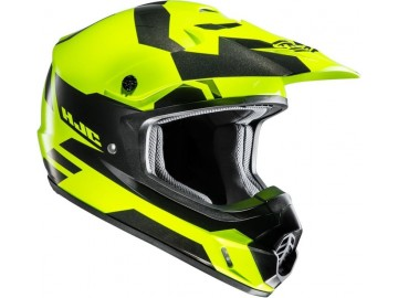 KASK HJC CS-MX II GRAFFED BLACK/YELLOW XL