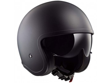 KASK LS2 OF 599 SPITFIRE SOLID BLACK XXL