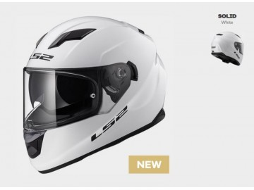 KASK LS2 FF320 STREAM SOLID WHITE XL