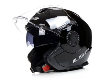 KASK LS2 OF570 VERSO SOLID BLACK XXL