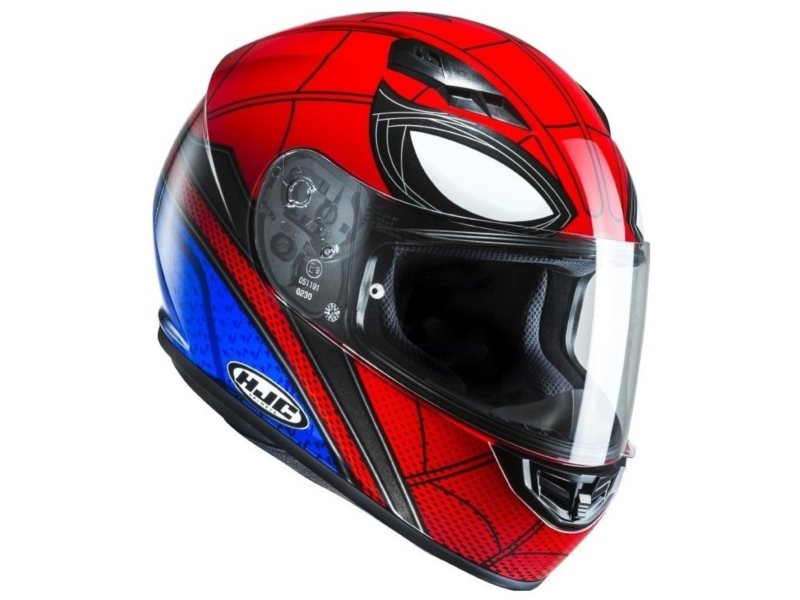 KASK HJC CS-15 SPIDERMAN HOMECOMING RED/BLUE L