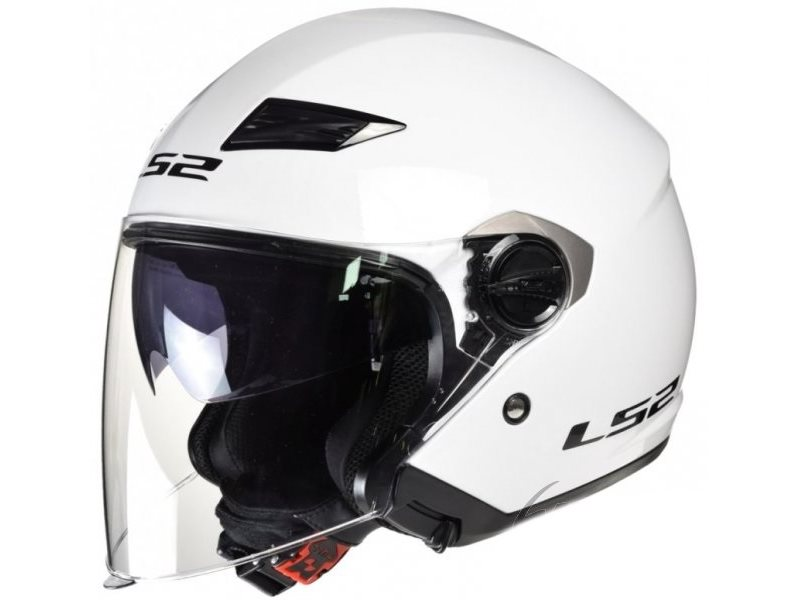 KASK LS2 OF569.2 TRACK WHITE /BIALY